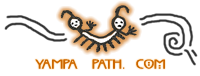 YAMPA Sculpture PATH & Studio Logo
