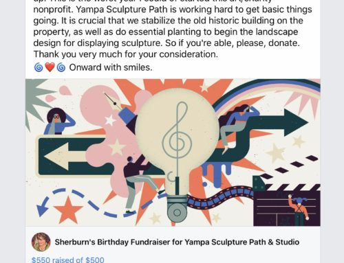 Facebook Birthday Fundraiser Raises $550 for Us