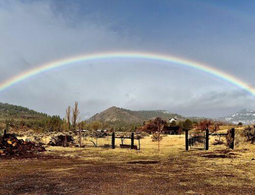 Rainbow Over Yampa Path